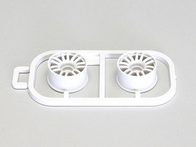 Kyosho MZH131W-N25 Multi Wheel II N //Offset 2.5 White//RE30//2pieces For Mini-Z