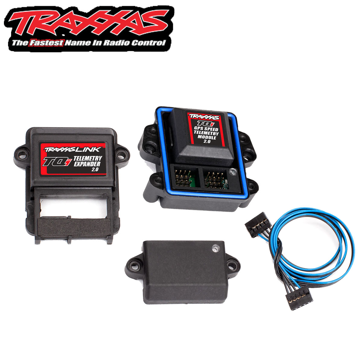 Traxxas 6553X Telemetry expander 2.0 and GPS module 2.0 TQi radio system TRA1