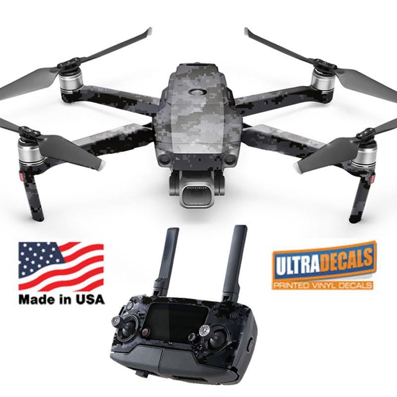 Camouflage Dji Mavic 2 Pro Zoom Skin Wrap Decal Sticker Battery Body Ultradecals 791511478678 Ebay